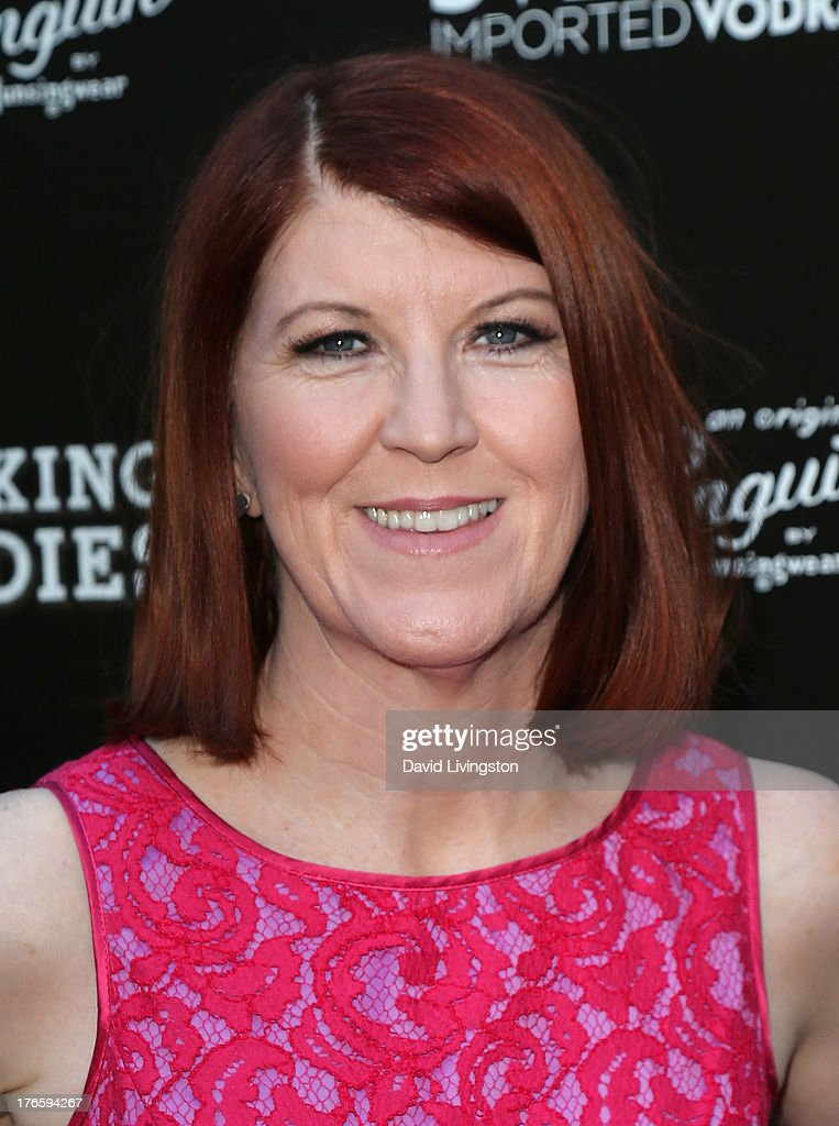Actress Kate Flannery attends a screening of Magnolia Pictures' 'Drinking Buddies' at ArcLight Cinemas on August 15, 2013 in Hollywood, California.