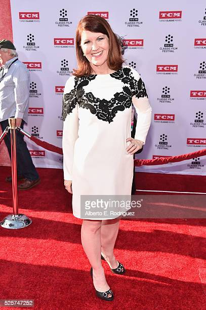 Actress Kate Flannery attends 'All The President's Premiere' during the TCM Classic Film Festival 2016 Opening Night on April 28 2016 in Los Angeles...