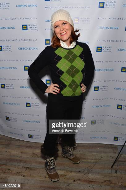 Actress Kate Flannery attends Equality Unscripted on January 19, 2014 in Park City, Utah.