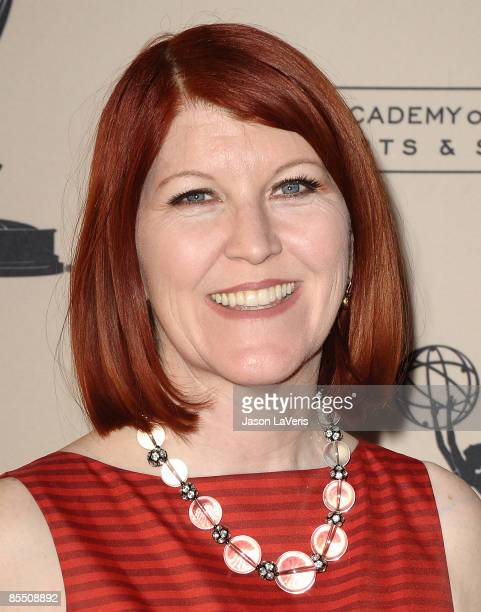 """Actress Kate Flannery attends """"Inside the Office"""" at the Leonard H. Goldenson Theatre on March 18, 2009 in North Hollywood, California."""