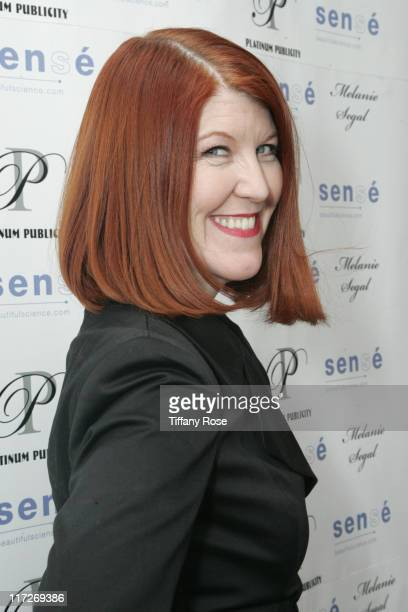 Actress Kate Flannery attends Melanie Segal's Be The Change Oscar Lounge Day 2 Presented by sense beautiful science on February 20 2009 in Los...