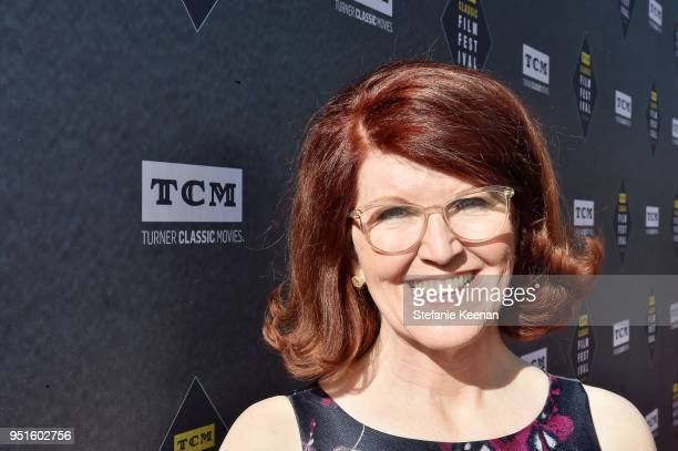 Actress Kate Flannery attends The 50th Anniversary World Premiere Restoration of 'The Producers' Opening Night Gala and Robert Osborne Award at the...