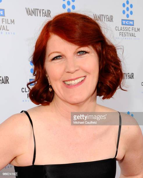 """Actress Kate Flannery attends the Opening Night Gala of the newly restored """"A Star Is Born"""" premiere at Grauman's Chinese Theatre on April 22, 2010..."""