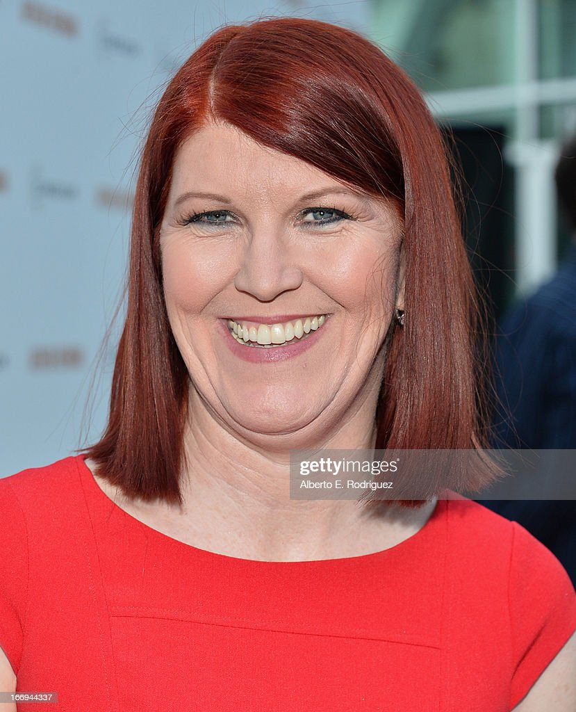 Actress Kate Flannery attends the premiere of Cinedigm's 'Arthur Newman' at ArcLight Hollywood on April 18, 2013 in Hollywood, California.