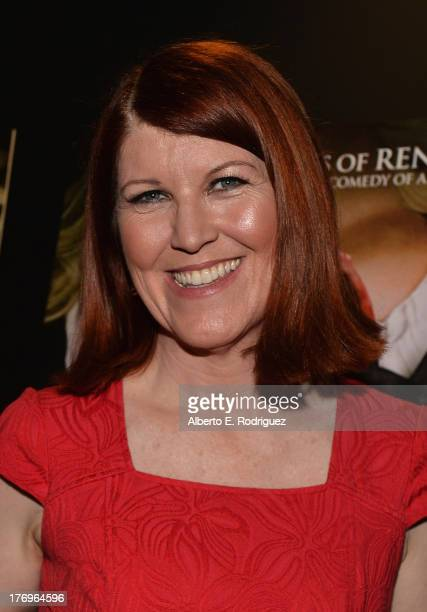 Actress Kate Flannery attends the premiere of Millenium Entertainment's 'Hell Baby' at Chinese 6 Theater Hollywood on August 19 2013 in Hollywood...