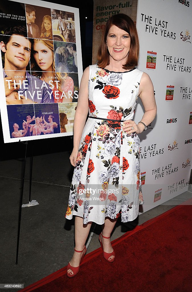 Actress Kate Flannery attends the premiere of RADiUS' 'The Last Five Years' at ArcLight Hollywood on February 11, 2015 in Hollywood, California.