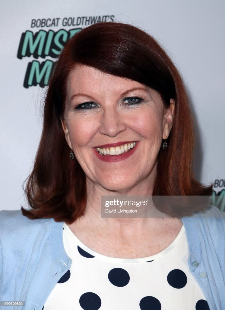 Actress Kate Flannery attends the premiere of truTV's 'Bobcat Goldthwait's Misfits & Monsters' at the Hollywood Roosevelt Hotel on July 11, 2018 in Hollywood, California.