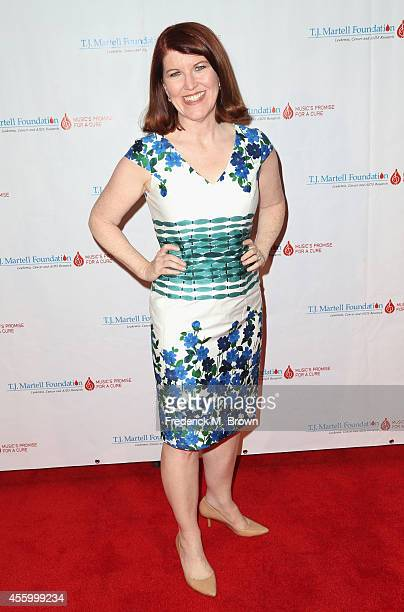Actress Kate Flannery attends the Spirit of Excellence Awards 2014 at the Hyatt Regency Century Plaza on September 23, 2014 in Century City,...