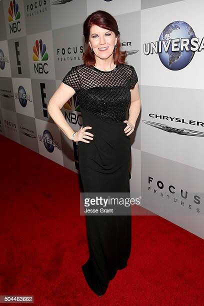 Actress Kate Flannery attends Universal NBC Focus Features and E Entertainment Golden Globe Awards After Party sponsored by Chrysler at The Beverly...