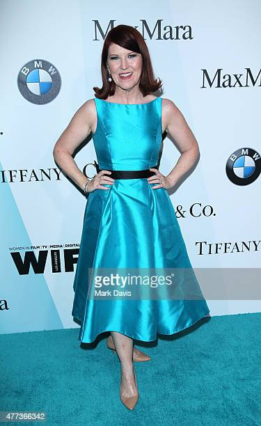 Actress Kate Flannery attends Women In Film 2015 Crystal Lucy Awards Presented by Max Mara BMW of North America and Tiffany Co at the Hyatt Regency...