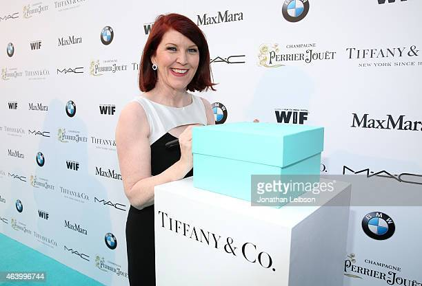 Actress Kate Flannery attends Women In Film Pre-Oscar Cocktail Party presented by MaxMara, BMW, Tiffany & Co., MAC Cosmetics and Perrier-Jouet at...