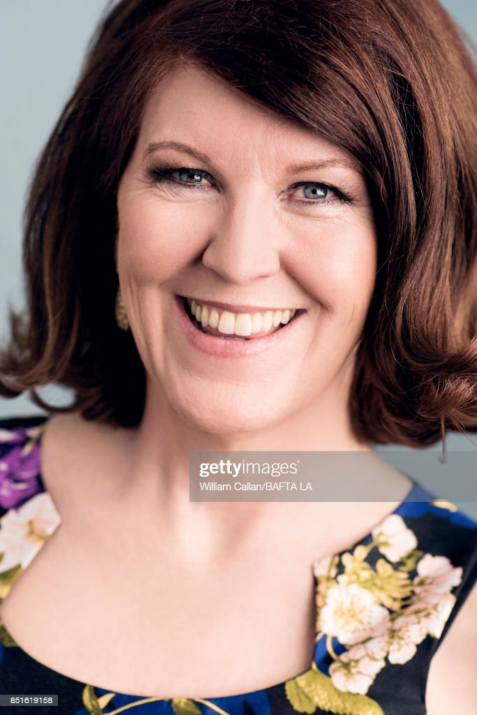 Actress Kate Flannery poses for a portrait BBC America BAFTA Los Angeles TV Tea Party 2017 at the The Beverly Hilton Hotel on September 16, 2017 in West Hollywood, California.