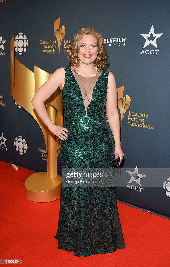 Canadian Screen Awards - Arrivals : News Photo