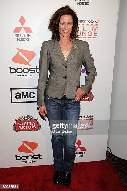 Actress Kate Hodge arrives at the premiere of Harold at the 62nd and Broadway Cinema on April 30 2008 in New York City