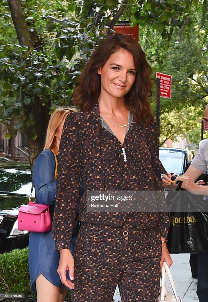 Actress Kate Homles is seen in Modtown on August 16, 2017 in New York City.
