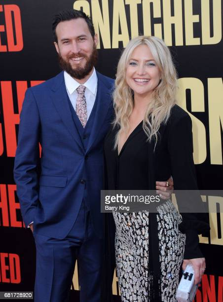 Actress Kate Hudson and Danny Fujikawa attend premiere of 20th Century Fox's' 'Snatched' at Regency Village Theatre on May 10 2017 in Westwood...