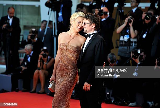 Actress Kate Hudson and Matt Bellamy attend 'The Reluctant Fundamentalist' Premiere And Opening Ceremony during the 69th Venice International Film...