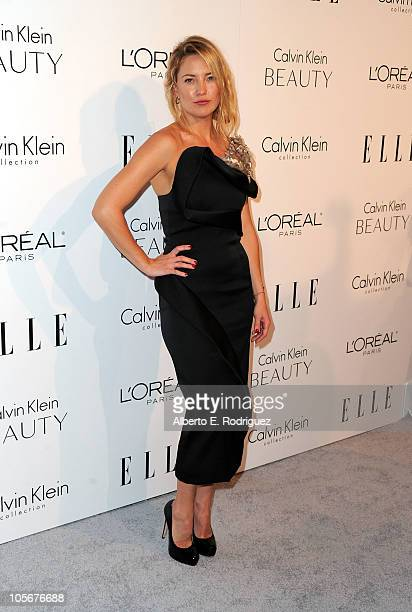 Actress Kate Hudson arrives at ELLE's 17th Annual Women in Hollywood Tribute at The Four Seasons Hotel on October 18 2010 in Beverly Hills California