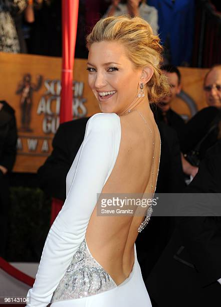 Actress Kate Hudson arrives at the 16th Annual Screen Actors Guild Awards held at The Shrine Auditorium on January 23 2010 in Los Angeles California