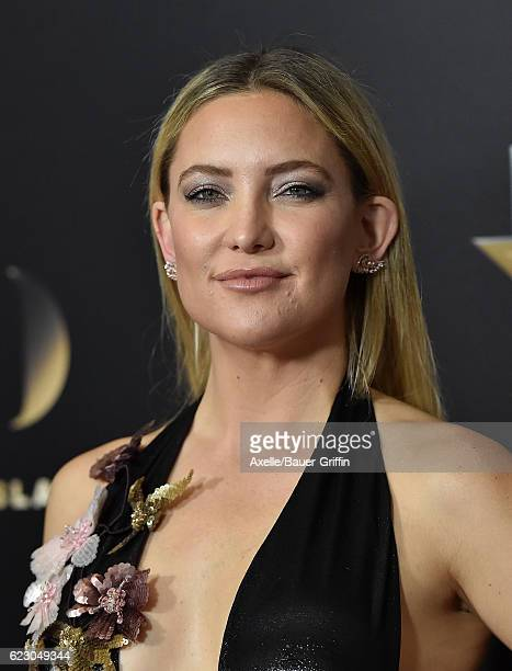 Actress Kate Hudson arrives at the 20th Annual Hollywood Film Awards at the Beverly Hilton Hotel on November 6 2016 in Los Angeles California