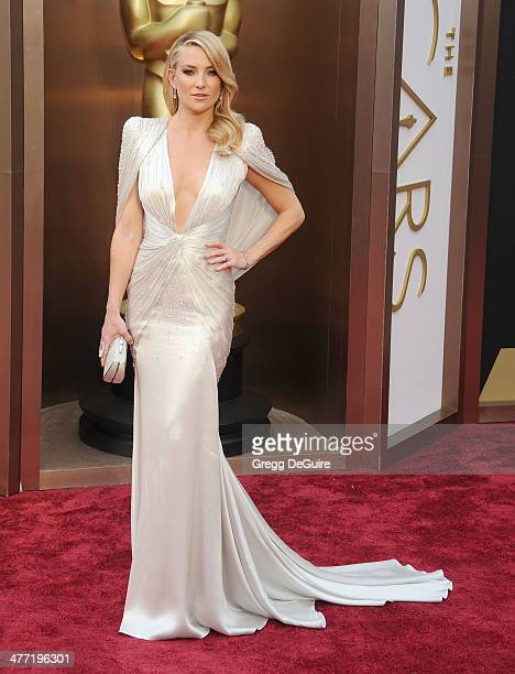 Actress Kate Hudson arrives at the 86th Annual Academy Awards at Hollywood Highland Center on March 2 2014 in Hollywood California
