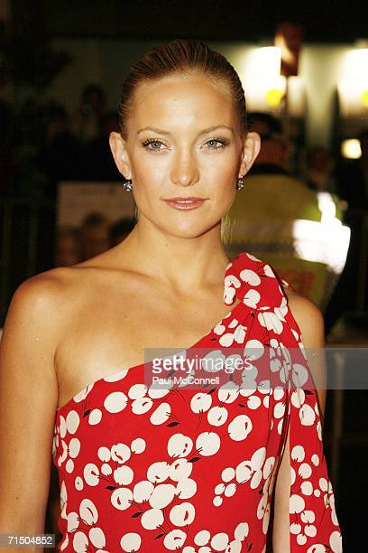 Actress Kate Hudson arrives at the Australian premiere of You Me and Dupree at Greater Union Westfield Parramatta July 23 2006 in Sydney Australia