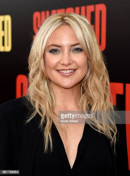 Actress Kate Hudson arrives at the premiere of 20th Century Fox's Snatched at the Village Theatre on May 10 2017 in Los Angeles California