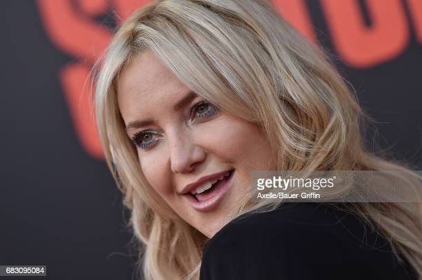 Actress Kate Hudson arrives at the premiere of 20th Century Fox's 'Snatched' at Regency Village Theatre on May 10 2017 in Westwood California