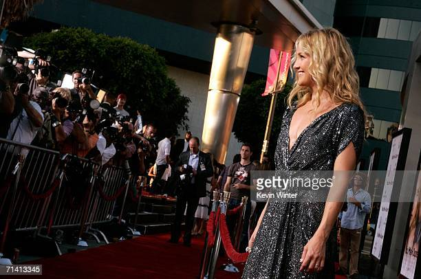 Actress Kate Hudson arrives at the Universal Pictures premiere of 'You Me Dupree' at the Cinerama Dome on July 10 2006 in Hollywood California