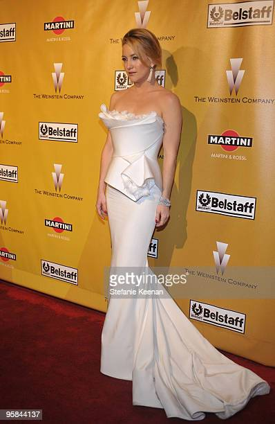 Actress Kate Hudson arrives at The Weinstein Company Golden Globes After Party held at BAR 210 at The Beverly Hilton Hotel on January 17 2010 in...