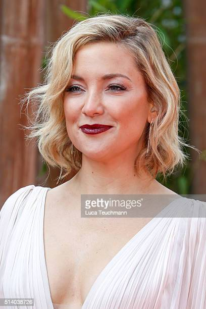 Actress Kate Hudson arrives for the european premiere of 'Kung Fu Panda 3' at Odeon Leicester Square on March 6 2016 in London England