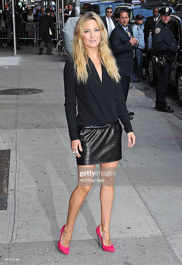 Actress Kate Hudson as seen on April 24, 2013 in New York City.