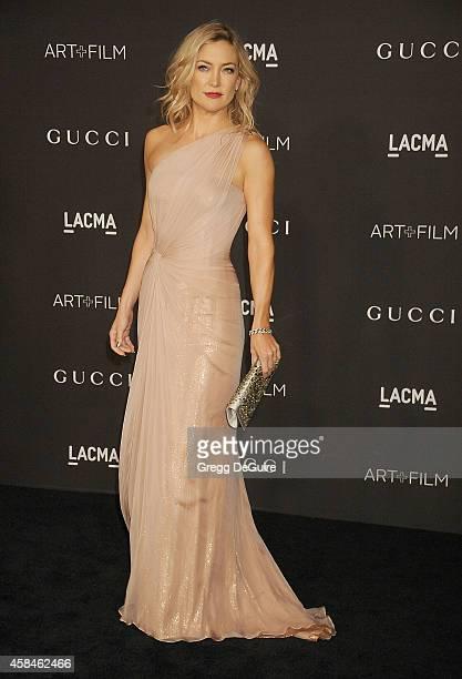 Actress Kate Hudson attends the 2014 LACMA Art Film Gala Honoring Barbara Kruger And Quentin Tarantino Presented By Gucci at LACMA on November 1 2014...