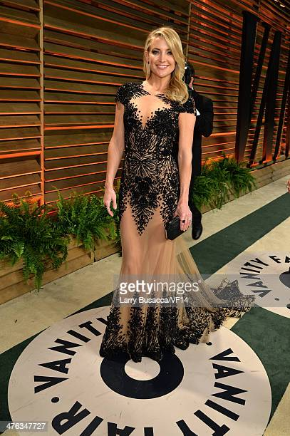 Actress Kate Hudson attends the 2014 Vanity Fair Oscar Party Hosted By Graydon Carter on March 2 2014 in West Hollywood California