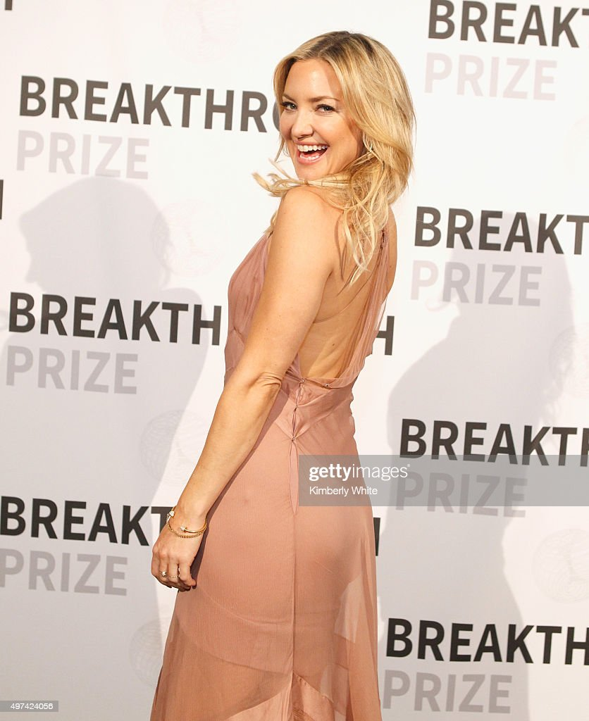 Actress Kate Hudson attends the 2016 Breakthrough Prize Ceremony on November 8, 2015 in Mountain View, California.
