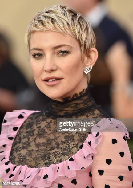 Actress Kate Hudson attends the 24th Annual Screen Actors Guild Awards at The Shrine Auditorium on January 21, 2018 in Los Angeles, California.