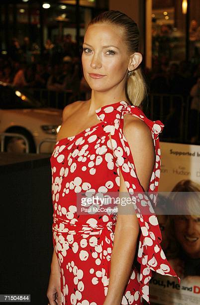 Actress Kate Hudson attends the Australian premiere of You Me and Dupree at Greater Union Westfield Parramatta July 23 2006 in Sydney Australia