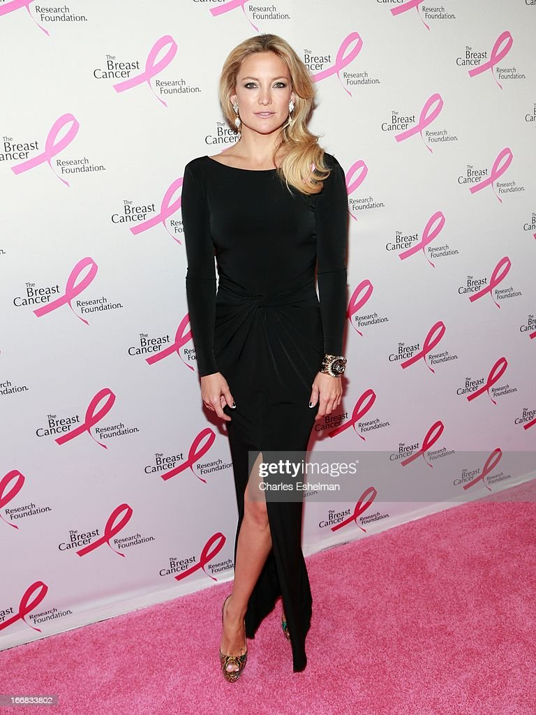 Actress Kate Hudson attends The Breast Cancer Research Foundation's 2013 Hot Pink Party at The Waldorf=Astoria on April 17, 2013 in New York City.