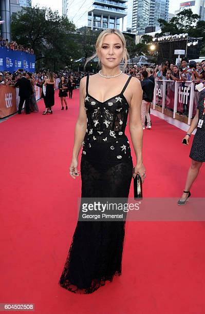 Actress Kate Hudson attends the Deepwater Horizon premiere during the 2016 Toronto International Film Festival at Roy Thomson Hall on September 13...