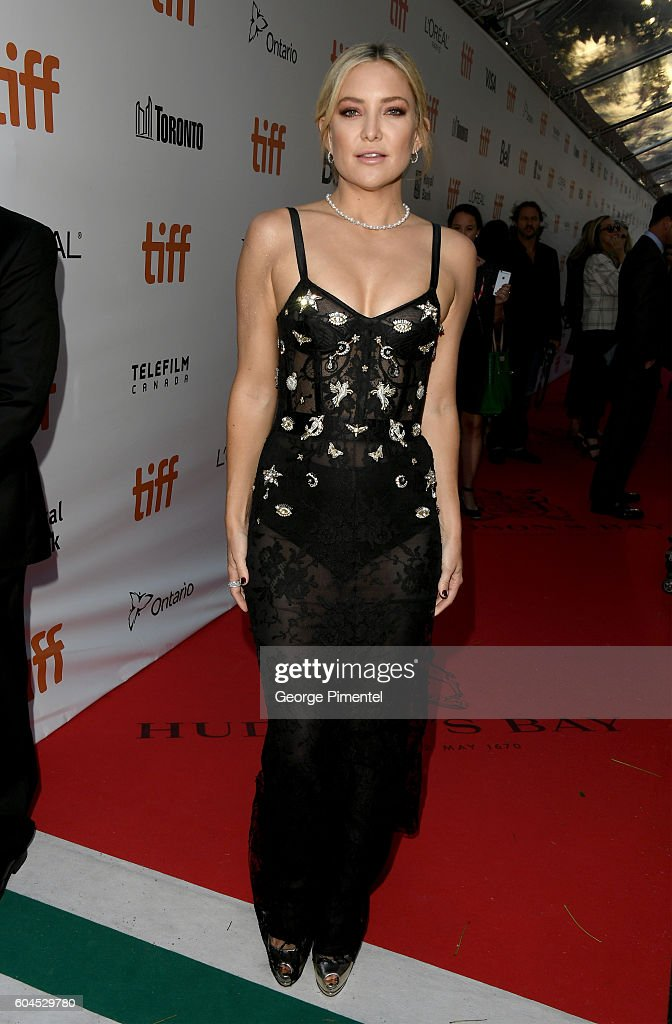 Actress Kate Hudson attends the 'Deepwater Horizon' premiere during the 2016 Toronto International Film Festival at Roy Thomson Hall on September 13, 2016 in Toronto, Canada.