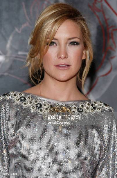 Actress Kate Hudson attends the Dolce Gabbana's The One Fragrance Launch and Private Dinner at The Grammercy Park Hotel on december 4 2007 in New...