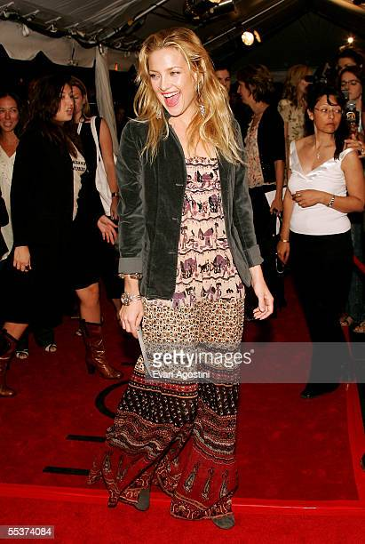 """Actress Kate Hudson attends the gala premiere of """"Elizabethtown"""" at Roy Thomson Hall during the 2005 Toronto International Film Festival on September..."""