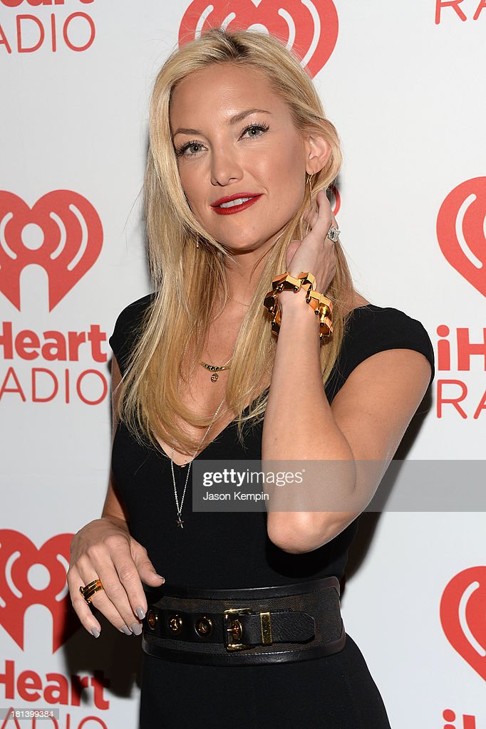Actress Kate Hudson attends the iHeartRadio Music Festival at the MGM Grand Garden Arena on September 20, 2013 in Las Vegas, Nevada.