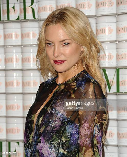 Actress Kate Hudson attends the La Mer celebration of an Icon event at Siren Studios on October 13 2015 in Hollywood California