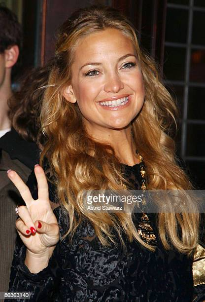 Actress Kate Hudson attends the New York screening of Kate Hudson's Glamour Reel Moments short film 'Cutlass' hosted by Glamour at the Drawing Room...
