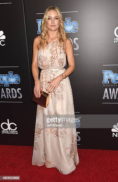Actress Kate Hudson attends the PEOPLE Magazine Awards at The Beverly Hilton Hotel on December 18 2014 in Beverly Hills California