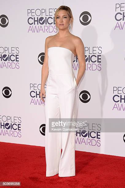 Actress Kate Hudson attends the People's Choice Awards 2016 at Microsoft Theater on January 6 2016 in Los Angeles California