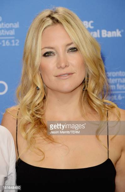 Actress Kate Hudson attends The Reluctant Fundamentalist Photo Call during the 2012 Toronto International Film Festival at TIFF Bell Lightbox on...
