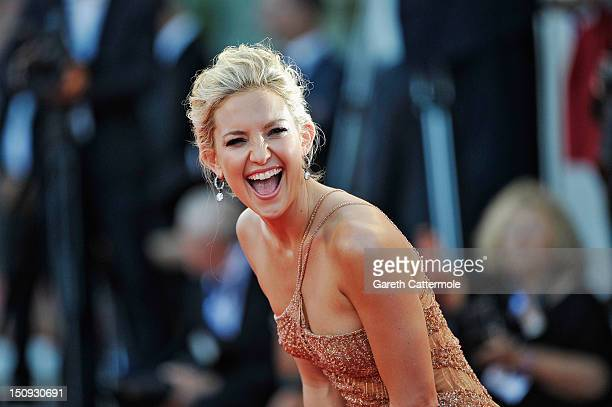 "Actress Kate Hudson attends ""The Reluctant Fundamentalist"" Premiere And Opening Ceremony during the 69th Venice International Film Festival at..."
