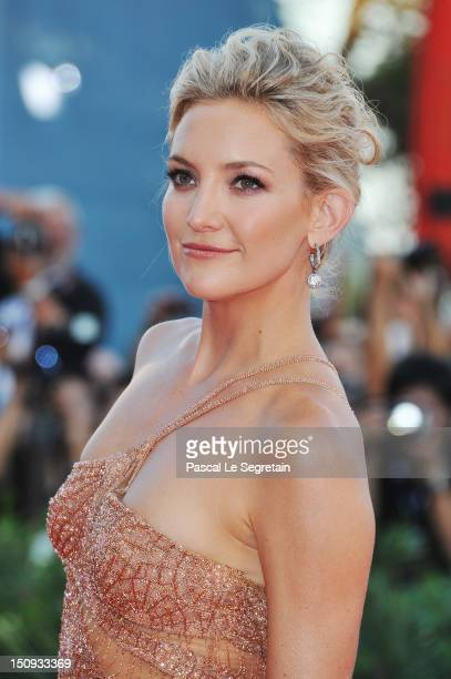 Actress Kate Hudson attends The Reluctant Fundamentalist Premiere And Opening Ceremony during the 69th Venice International Film Festival at Palazzo...